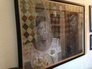 Bongi Bengu framed R20,000/ $2,000