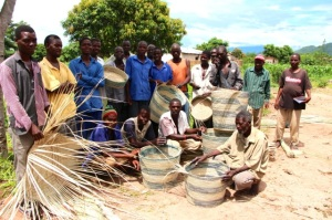 An entire village in Malawi employed to craft baskets to be sold in The Mother City.
