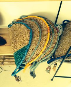 Pichulik and Design Afrika are collaborating on woven clutches with rope edgings. Coming this December!
